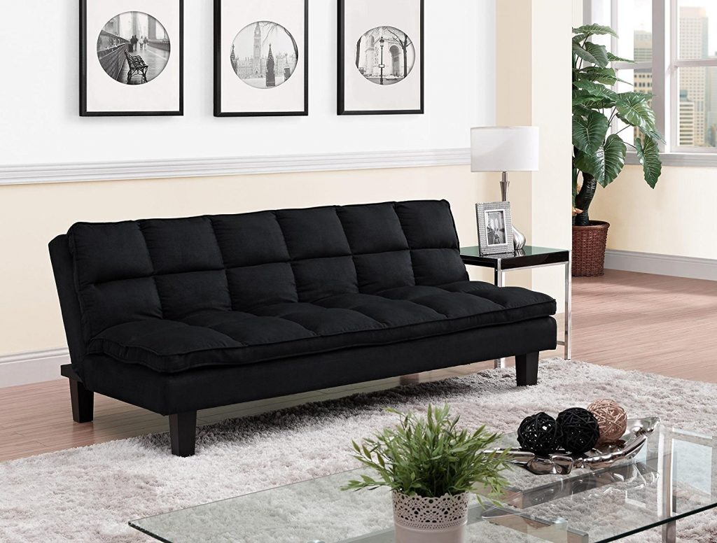 Dhp Is Renowned For Affordable Functional And Stylish Futons Allegra Pillow Top Futon One Of Them This Contemporary Upholstered In