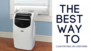 clean portable air conditioner