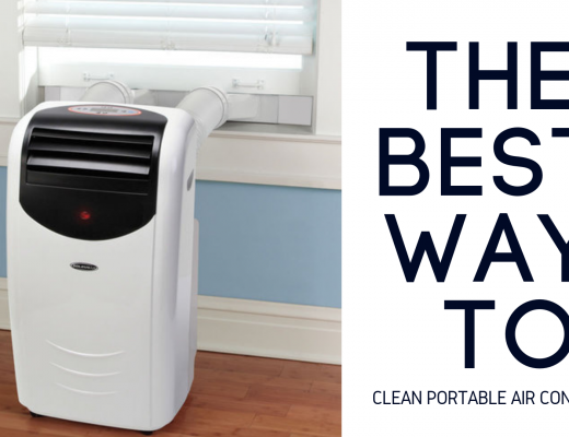 clean portable air conditioner