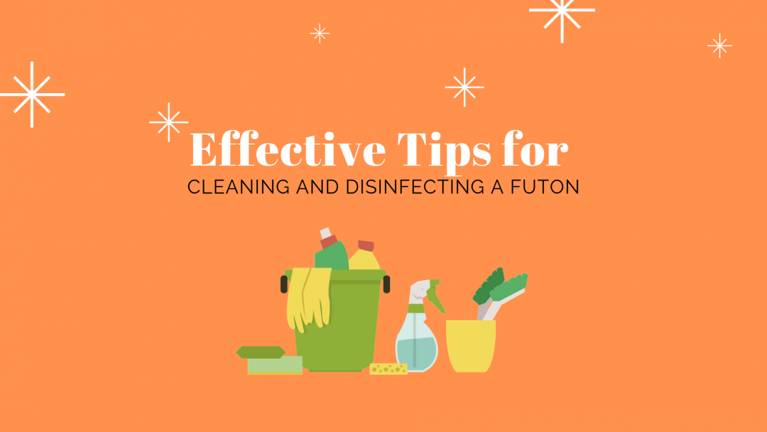 cleaning and disinfecting futon