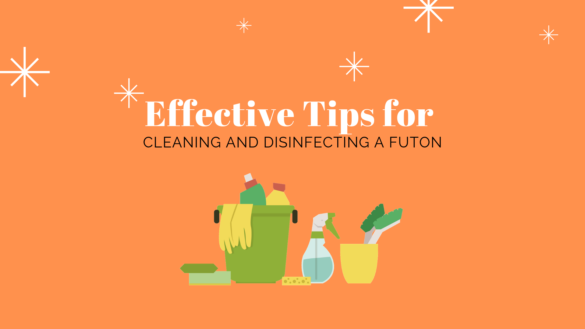 Cleaning And Disinfecting A Futon