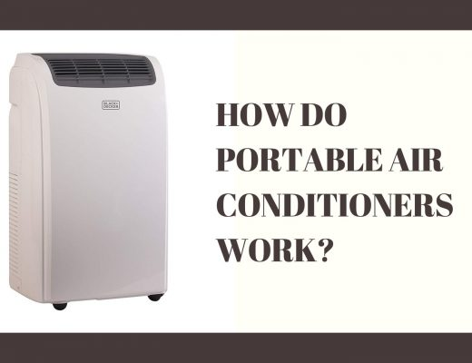 how to portable air conditioners work